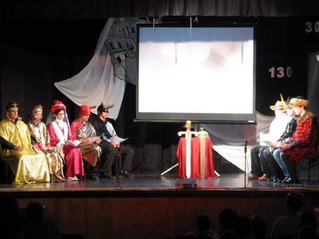 BÁNK BÁN - Interaktív operamese előadás bicskei fiatalok szereplésével 2