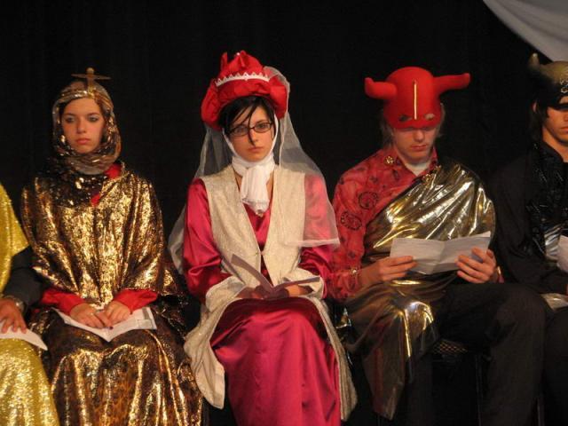 BÁNK BÁN - Interaktív operamese előadás bicskei fiatalok szereplésével 5