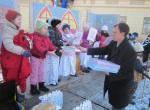 VÁROSI KARÁCSONY-Az adventi koszorú második gyertyájának meggyújtása