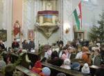 VÁROSI KARÁCSONY-Az adventi koszorú negyedik  gyertyájának meggyújtása